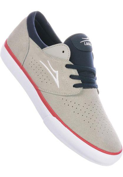 Lakai Alle Schuhe Fremont Vulc lightgrey-navy vorderansicht 0604645