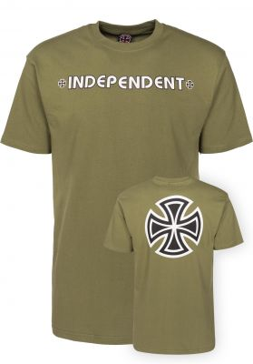 Independent T-Shirts Bar Cross