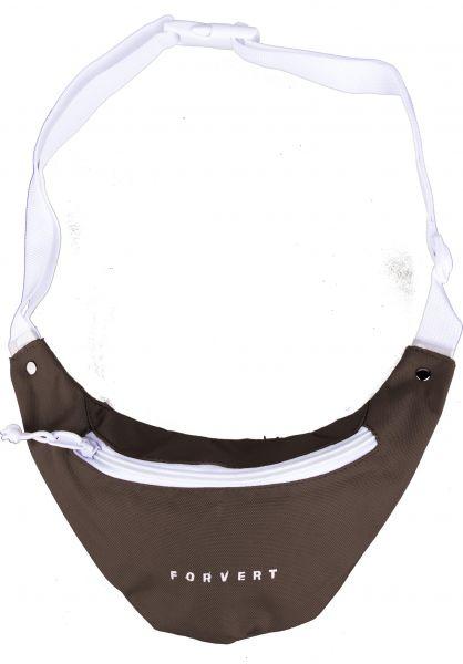 Forvert Hip-Bags Leon darkbrown Vorderansicht 0169001