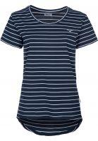 Cleptomanicx T-Shirts Harbour darknavy Vorderansicht