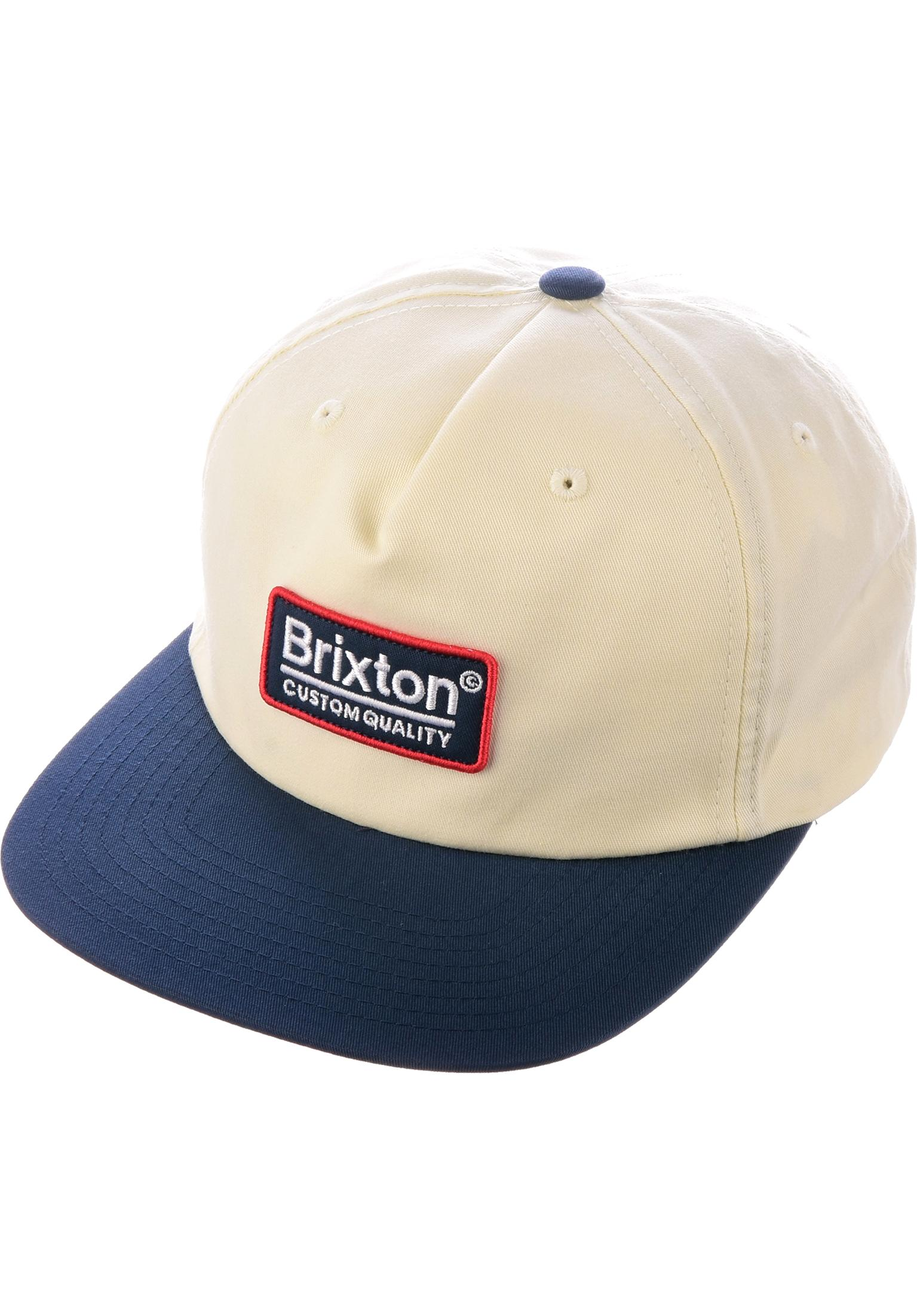 9d2678d3695 Palmer Brixton Caps in offwhite-navy for Men