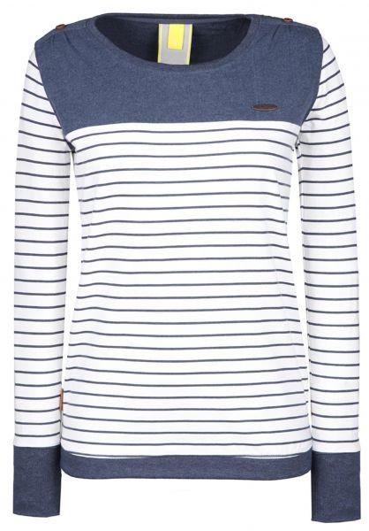 alife and kickin Longsleeves Leonie marine-stripes vorderansicht 0383024