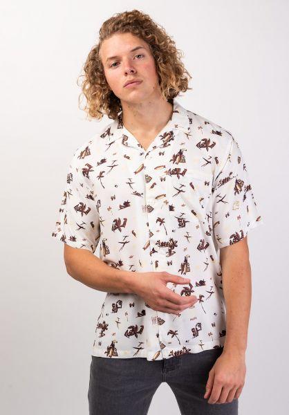 Carhartt WIP Hemden kurzarm Club Pacific wax vorderansicht 0400898