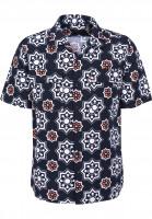 Levis Skate Hemden kurzarm SS Button Down watertrush-navyseersucker Vorderansicht