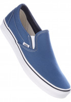Vans Alle Schuhe Classic-Slip-On navy-white Vorderansicht