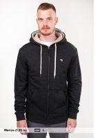 titus-zip-hoodies-centerfold-bruno-darkgreymottled-rueckenansicht-0454506