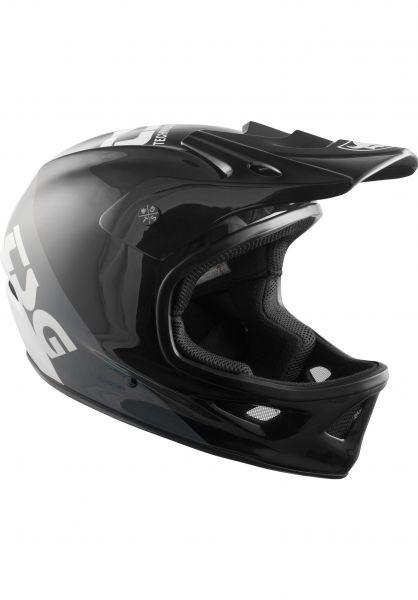 TSG Fullface-Helme Squad Graphic Design triple vorderansicht 0257005