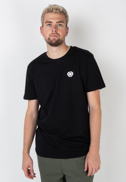 C1RCA T-Shirts Mini Icon black vorderansicht 0323013