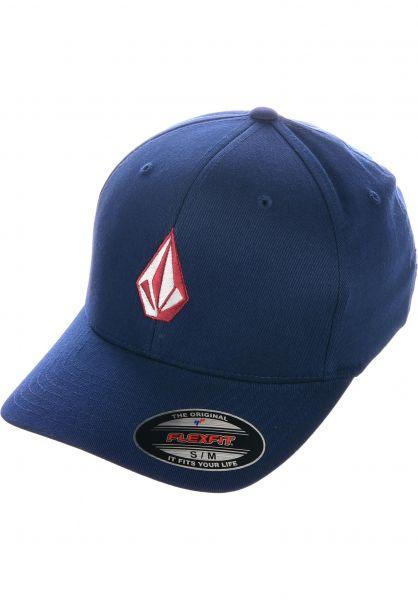 Volcom Caps Full Stone XFIT midnightblue vorderansicht 0565957