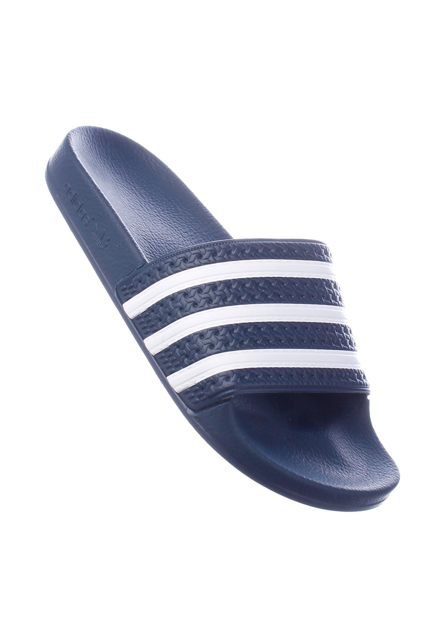 Adilette adidas Sandals in blue-white
