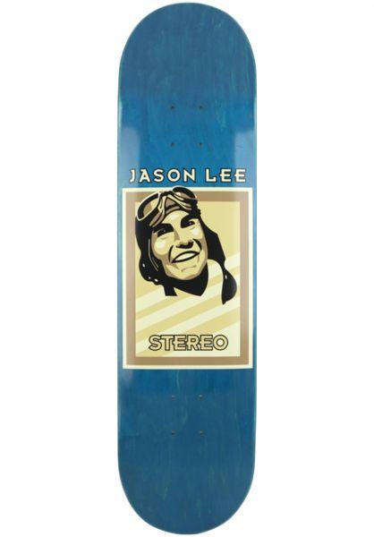 Stereo Skateboard Decks Aviator Lee natural vorderansicht 0115086