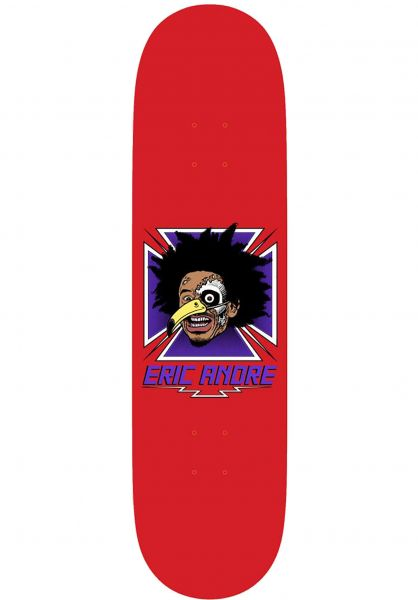 Birdhouse Skateboard Decks Eric Andre Guest Model red vorderansicht 0263200