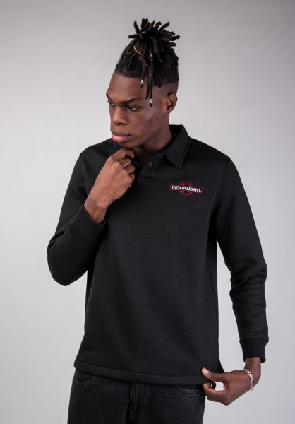 Independent Polo-Shirts OGBC Emb Polo black vorderansicht 0138382