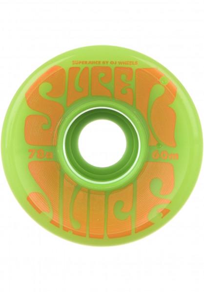 OJ Wheels Rollen Super Juice 78A green Vorderansicht