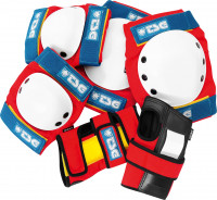 TSG Schoner-Sets Basic Protection Set red-white-blue Vorderansicht