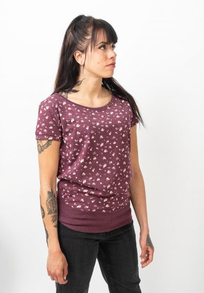 alife and kickin T-Shirts Coco grape 120 vorderansicht 0320754