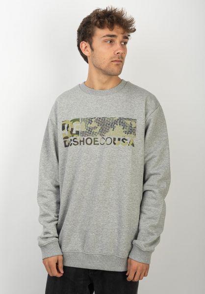 DC Shoes Sweatshirts und Pullover Trestna greyheather vorderansicht 0422779