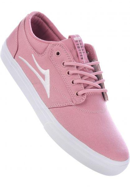 Lakai Alle Schuhe Griffin pink Vorderansicht