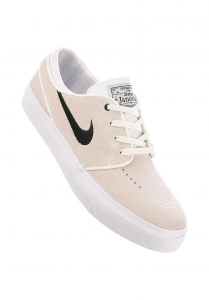 Nike SB Alle Schuhe Zoom Stefan Janoski Wmn summitwhite-black-pureplatinum Vorderansicht