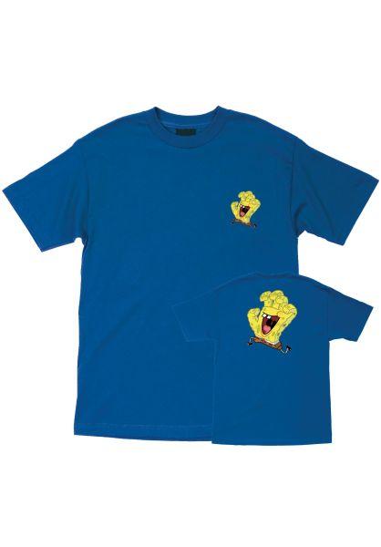 Santa-Cruz T-Shirts SB Spongehand royalblue vorderansicht 0320531