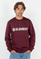 element-sweatshirts-und-pullover-blazin-vintagered-vorderansicht-0423044