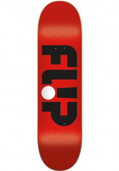 Flip Skateboard Decks Odyssey Logo red Vorderansicht