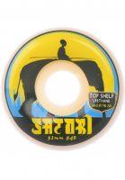 satori-rollen-elephant-top-shelf-urethane-series-conical-shape-84b-white-lightblue-vorderansicht-0135313