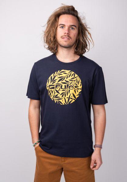 Rules T-Shirts Branches deepnavy vorderansicht 0396528