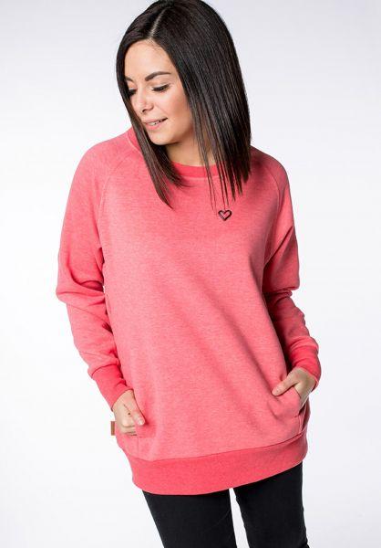 alife and kickin Sweatshirts und Pullover Helen coral vorderansicht 0422919