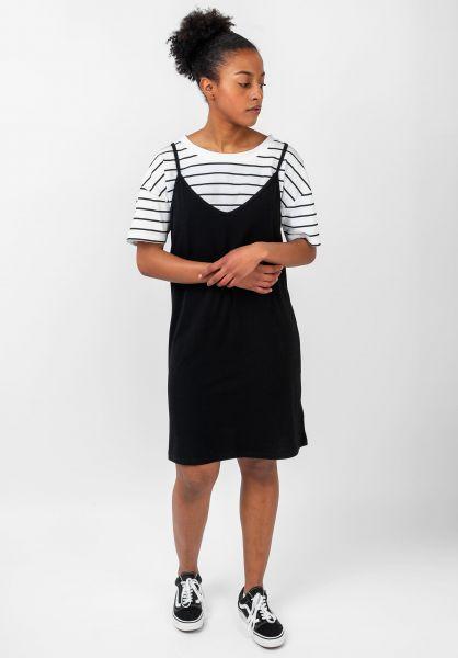 TITUS Kleider Paige black-striped vorderansicht 0801459