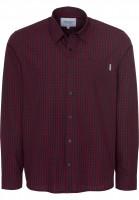 Carhartt WIP Hemden langarm Preston preston-check-navy-cranberry Vorderansicht