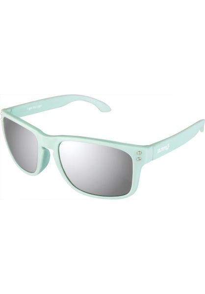 Zunny Sonnenbrillen Std. Sporty mint-silver vorderansicht 0590429