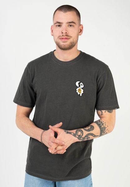 Vans T-Shirts Micro Dazed Egg black vorderansicht 0323489