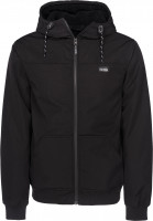 iriedaily Winterjacken Honeystop Jacket black Vorderansicht