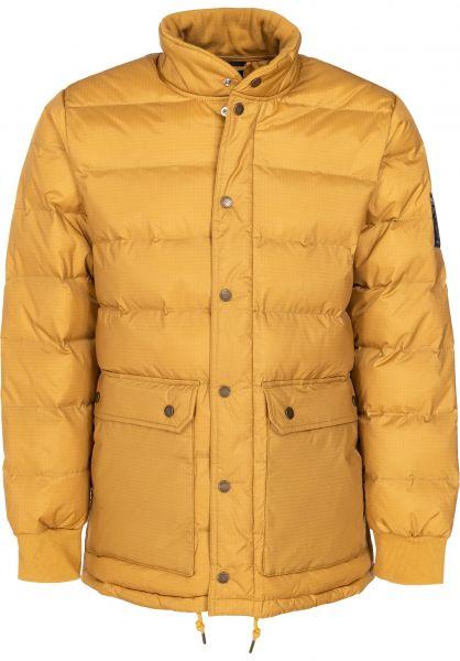 HUF Winterjacken Tundra honeymustard vorderansicht 0250023