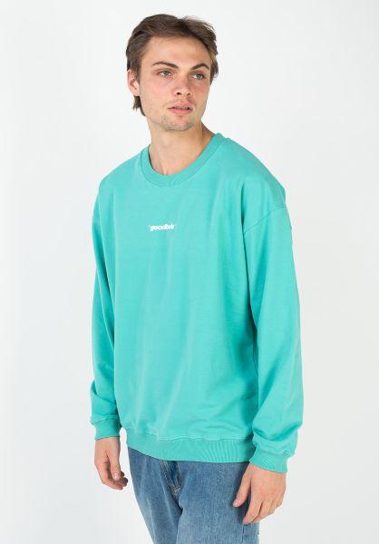 Goodbois Sweatshirts und Pullover Official Core Crewneck mint vorderansicht 0423040