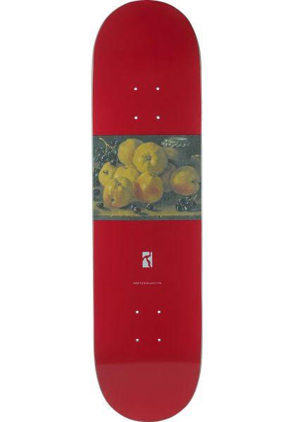 Poetic Collective Skateboard Decks Still Life I red vorderansicht 0263483