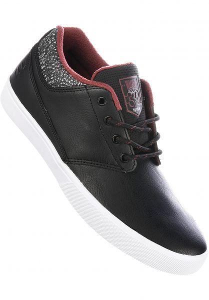 etnies Alle Schuhe Jameson MTW x Thirtytwo black-grey-red Vorderansicht