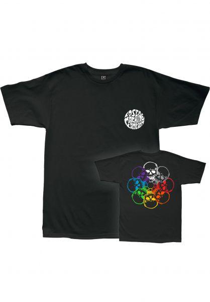 Loser-Machine T-Shirts Dead Ringer black vorderansicht 0320833