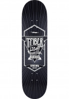 TITUS Skateboard Decks Classic T-Fiber Light black-white Vorderansicht