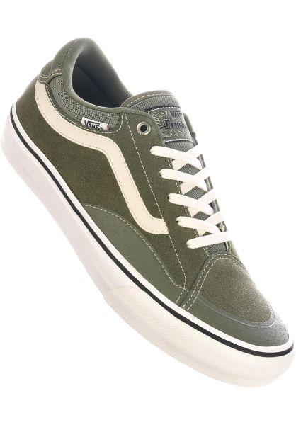 Vans Alle Schuhe TNT Advanced green-marshmallow vorderansicht 0604457