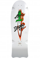 Alva-Skateboard-Decks-1985-Dagger-Tail-Re-Issue-white-Vorderansicht