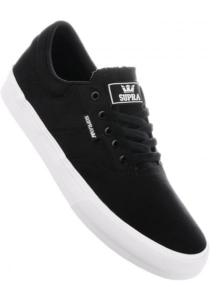 Supra Alle Schuhe Cobalt black-white Vorderansicht