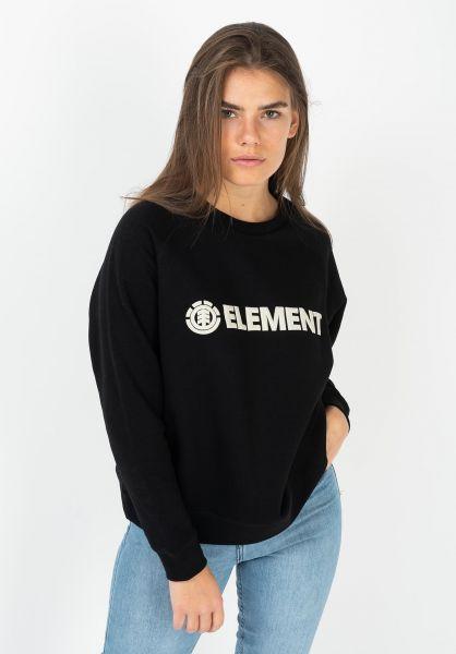 Element Sweatshirts und Pullover Logic flintblack vorderansicht 0422433