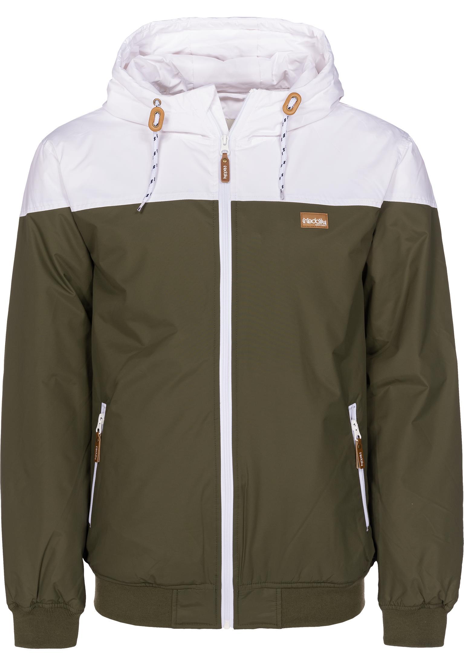 Insulaner Jacket iriedaily Winterjacken in olive-white für Herren   Titus b18dc1963b