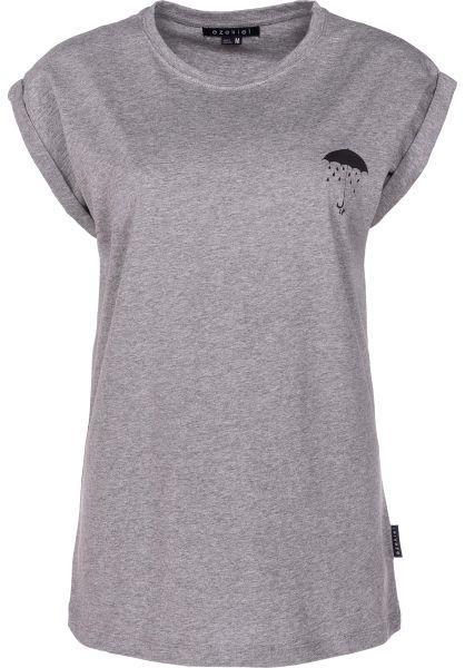 Ezekiel T-Shirts Happay Again heathergrey vorderansicht 0398627