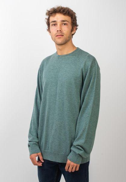 Carhartt WIP Strickpullover Playoff Sweater cloudyheather vorderansicht 0422339