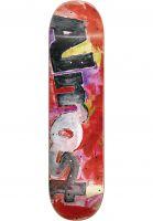 Almost Skateboard Decks Color Bleed red Vorderansicht