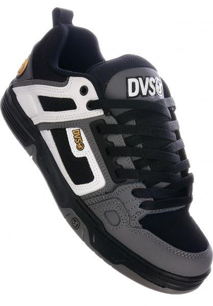 DVS Alle Schuhe Comanche white-charcoal vorderansicht 0603386