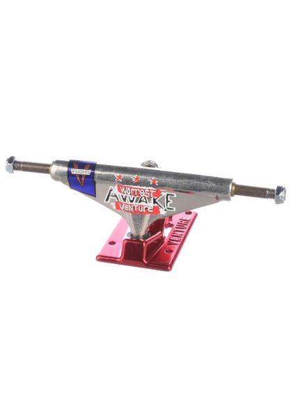 Venture Achsen 5.0 High Worrest Awake V-Lights silver-red vorderansicht 0122672